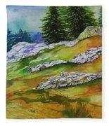 High Country Boulders Fleece Blanket