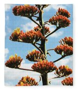 High Country Red Bud Agave Fleece Blanket