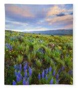 High Desert Spring Fleece Blanket
