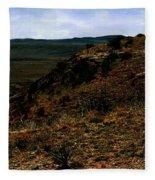 High Desert Sundown Fleece Blanket