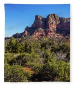 High Desert View Fleece Blanket