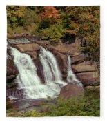High Falls 1 Fleece Blanket