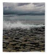 High Low Tide Fleece Blanket