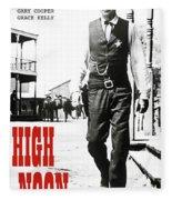 High Noon, Gary Cooper Fleece Blanket