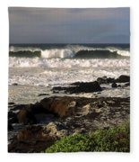 High Ocean Surf Fleece Blanket