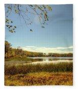 High Point Autumn Scenic Fleece Blanket