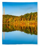 High Point Monument Fleece Blanket