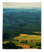High Rocks Overlook  Fleece Blanket