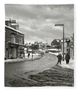 High Street - Lye - 1960's    Ref-58 Fleece Blanket