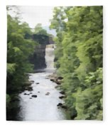 Highforce Waterfall Fleece Blanket