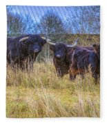 Highland Family Fleece Blanket