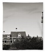 Highland Light At Cape Cod Fleece Blanket