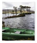 Highland Loch Fleece Blanket