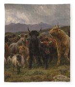 Highland Raid Fleece Blanket