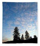 Highland Sunrise Fleece Blanket