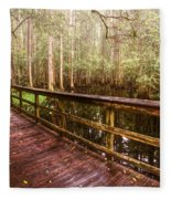 Highlands Hammock Fleece Blanket