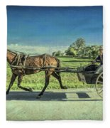 Heading Home Fleece Blanket