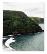 Highway To Hana Fleece Blanket