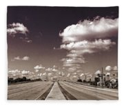 Highway To Paradise Fleece Blanket