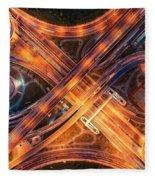 Highway Fleece Blanket