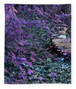 Hiking Trail Infrared Fleece Blanket