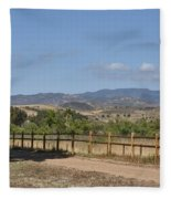 Hiking Trail To Peters Canyon Fleece Blanket