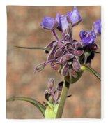 Hill Country Flower Fleece Blanket