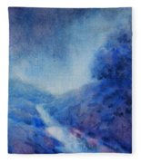 Hill Country Storm, No. 1 Fleece Blanket