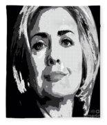 Hillary Clinton Fleece Blanket