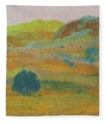 Hills Of Dakota Dream Fleece Blanket