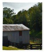 Hillside Farm  Fleece Blanket