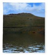 Hillside Reflection Fleece Blanket