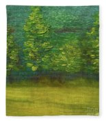 The Lakeside  Fleece Blanket