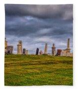 Hilltop Graveyard Fleece Blanket