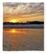 Hilton Head Beach Fleece Blanket