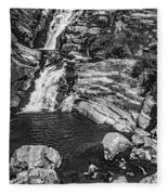 Himalayan Bath Bw Fleece Blanket