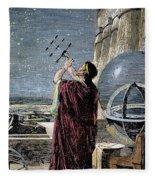 Hipparchus (146-127 Bc) Fleece Blanket