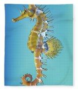 Hippocampus  Fleece Blanket