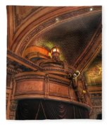 Hippodrome Theatre Balcony - Baltimore Fleece Blanket