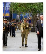 His Excellency General The Honourable David Hurley Fleece Blanket