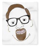 Hipster Him Fleece Blanket