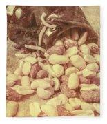 Historic Food Art Fleece Blanket