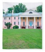 Historic Home Of James Madison Fleece Blanket