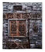 Historic Hutong Fleece Blanket