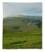 Historic Pierce Point Ranch In Point Reyes Fleece Blanket
