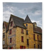 Historic Sarlat - La - Caneda France Fleece Blanket
