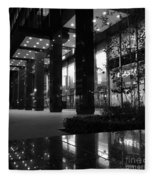 Historic Seagram Building - New York City Fleece Blanket