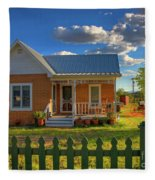 Historic Tombstone In Arizona Fleece Blanket