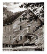Historic Walnford Mill Fleece Blanket