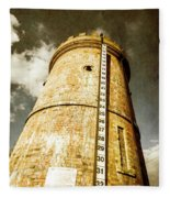 Historic Water Storage Structure Fleece Blanket